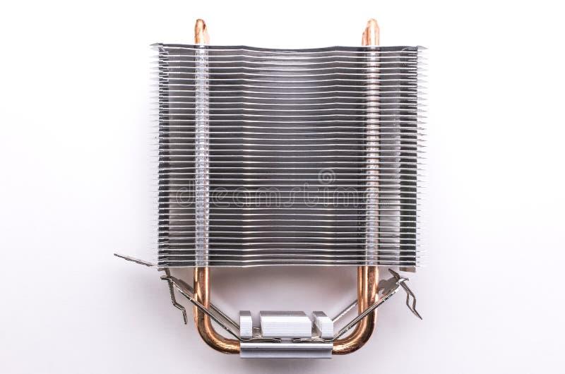 Radiatore del CPU del PC fotografie stock libere da diritti