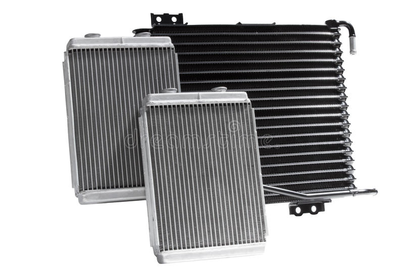 Radiatori di raffreddamento automobilistici immagini stock libere da diritti