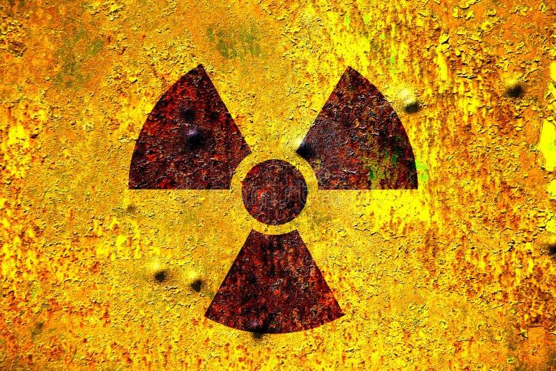 Radiazione nucleare fotografia stock libera da diritti