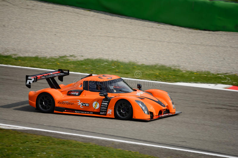 Download Radical Rxc V Car Test At Monza Editorial Photography Image