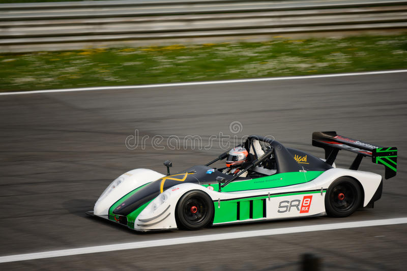 Download Radical Sr Rx Car Test At Monza Editorial Stock Image Image