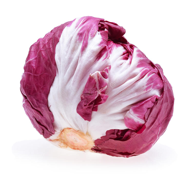 Radicchio, κόκκινη σαλάτα στοκ φωτογραφία με δικαίωμα ελεύθερης χρήσης