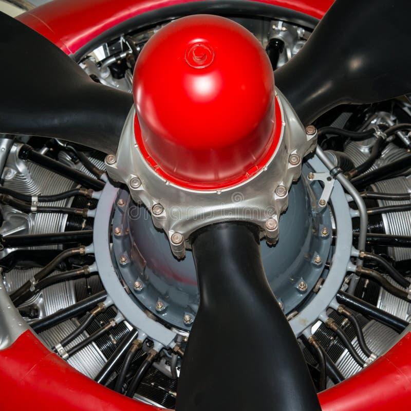 Radiell aero motor arkivfoton