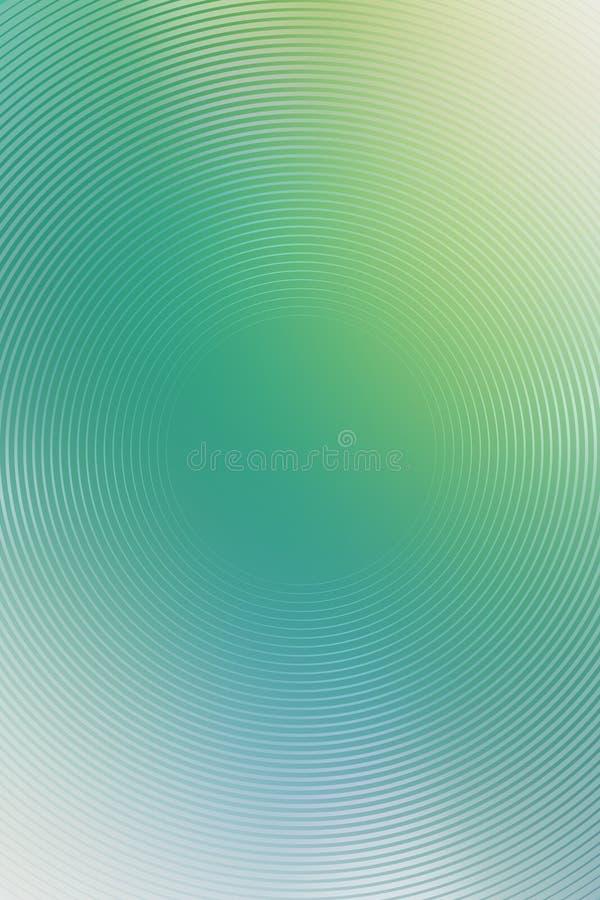 Radiell turkosbakgrund f?r abstrakt lutning brigham vektor illustrationer