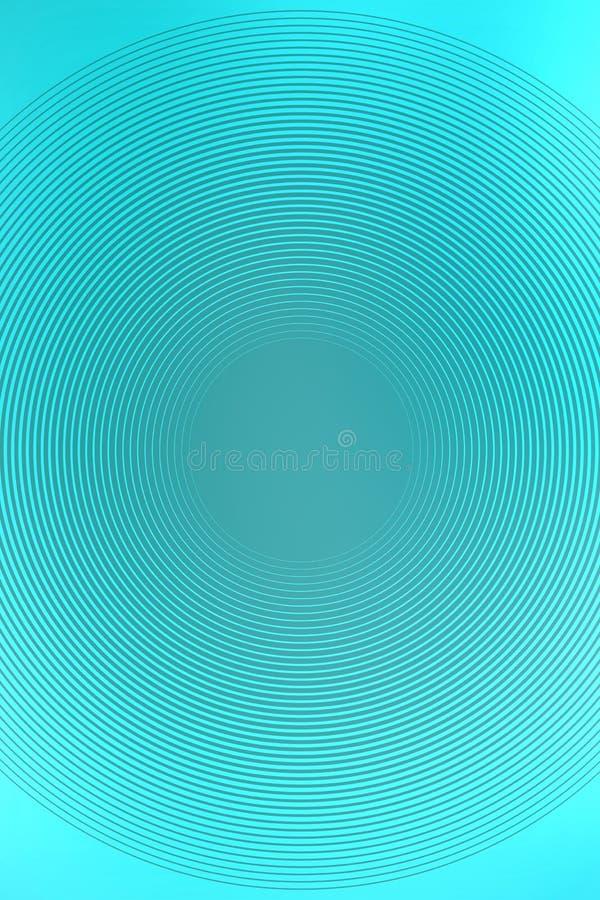 Radiell turkosbakgrund f?r abstrakt lutning färgrik design vektor illustrationer
