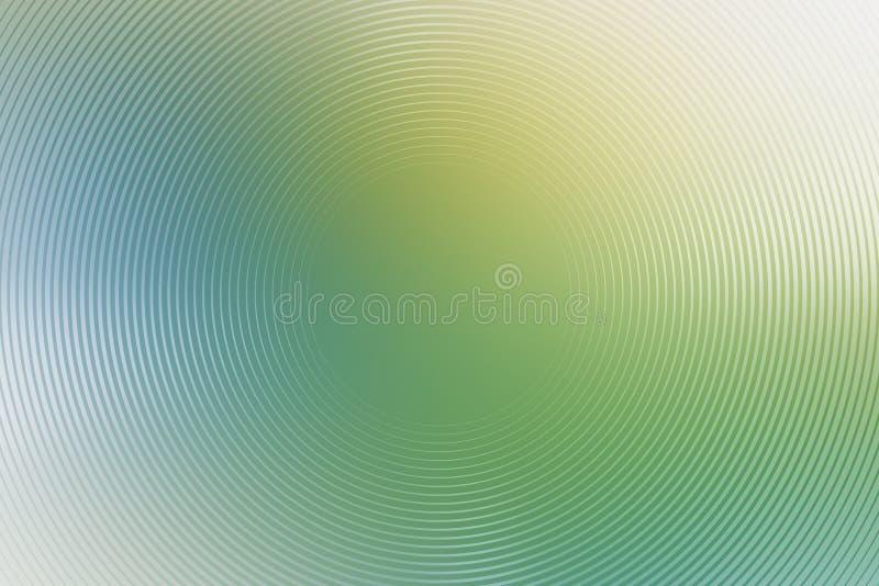 Radiell turkosbakgrund f?r abstrakt lutning f?rg stock illustrationer