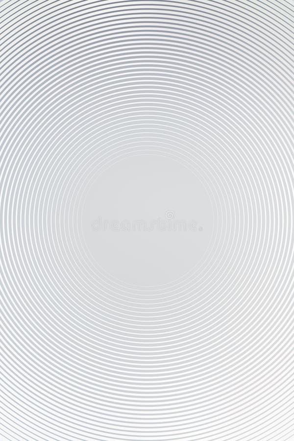 Radiellt abstrakt begrepp f?r bakgrundsmetalllutning h?jd vektor illustrationer