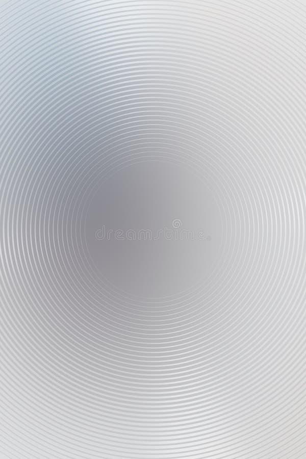 Radiellt abstrakt begrepp f?r bakgrundsmetalllutning Texturgarnering royaltyfri illustrationer