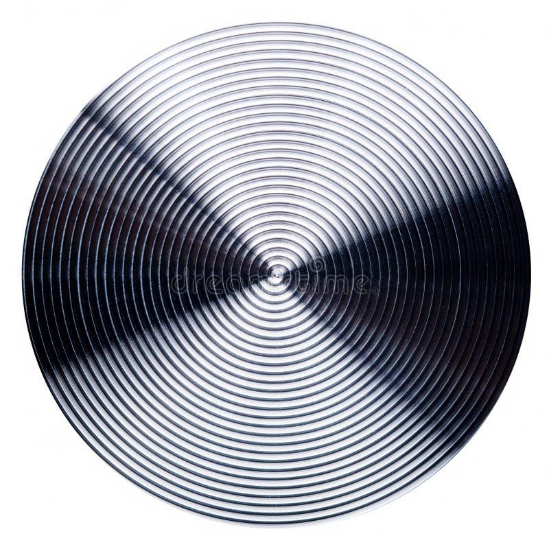 Radiellt rostfritt stål stock illustrationer