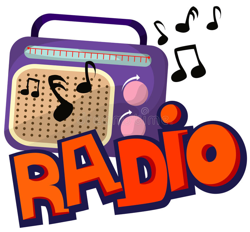 radio stock illustrationer