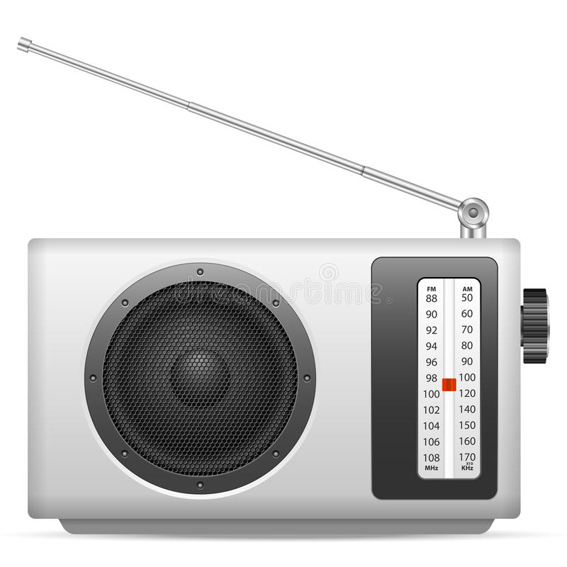 radio vector illustratie