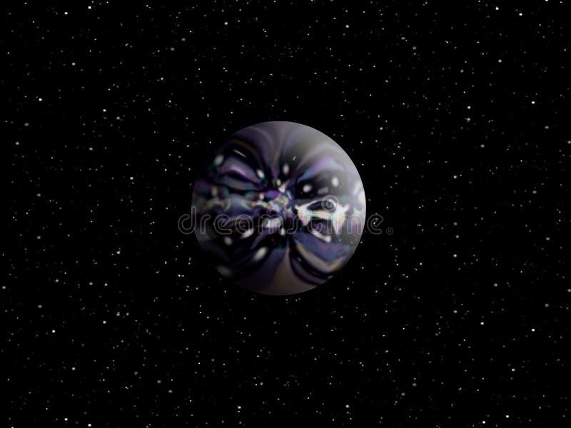 Radio Active Planet Stock Image