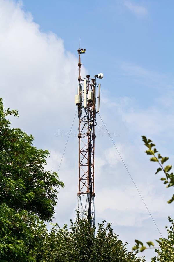 Download Radio antenna stock photo. Image of clouds, antenna, signal - 23249128