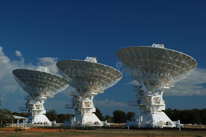 Radio Antenna Dishes stock photos