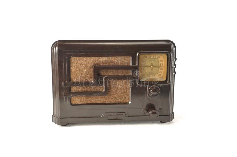 Radio antigua fotografía de archivo libre de regalías