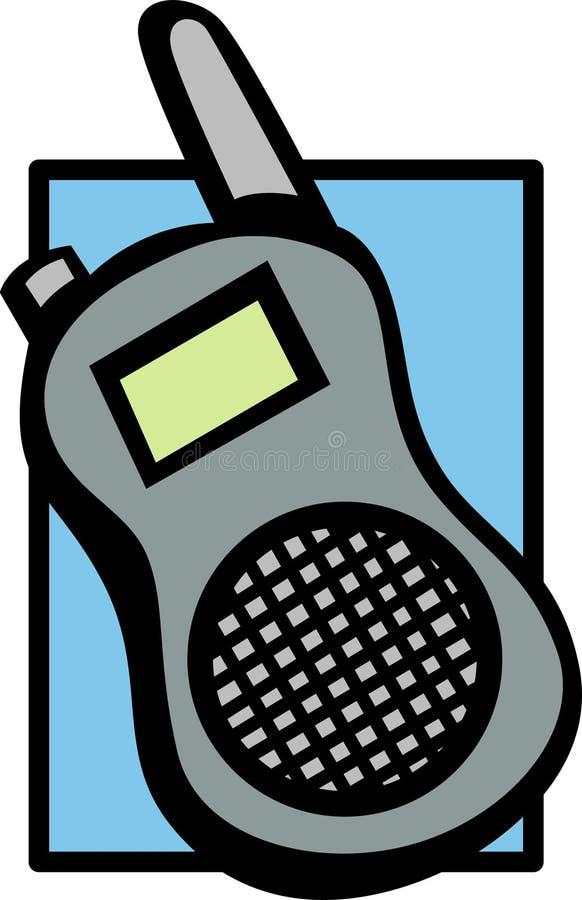 Radio bidirezionale mobile royalty illustrazione gratis