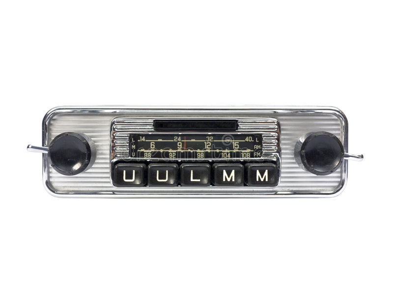 Download Radio car stock photo. Image of music, antique, message - 5023362