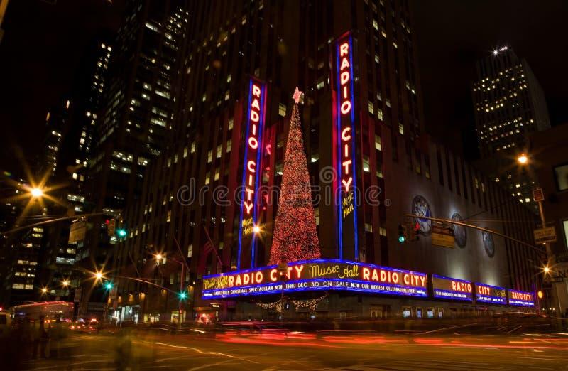 Radio City Music Hall royalty free stock photography