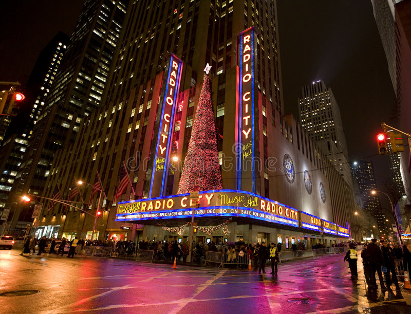 Download Radio city music hall editorial image. Image of times - 7331885