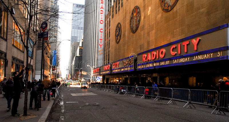 Download Radio City Music Hall editorial stock image. Image of decorate - 80297464