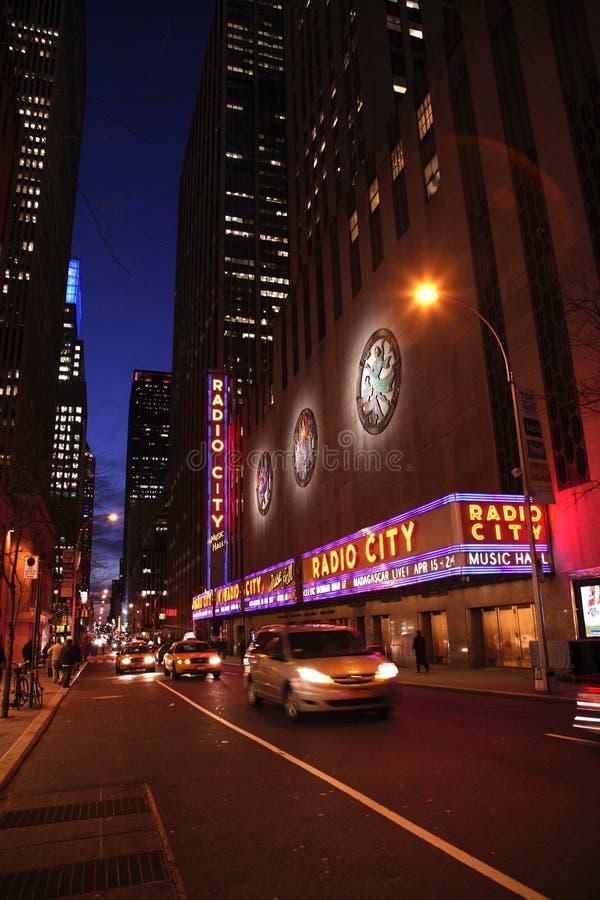 Radio City Music Hall stock photos
