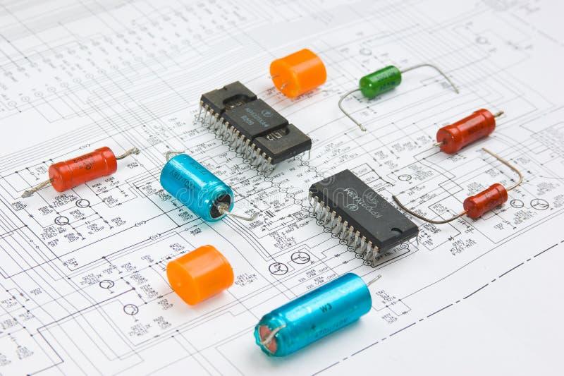 Radio components stock photos