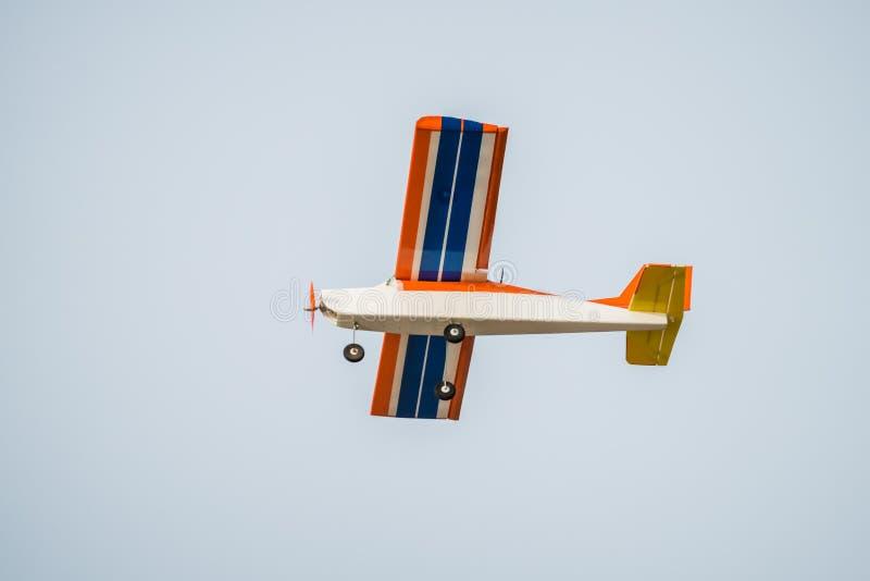 Radio control plane toy stock photo