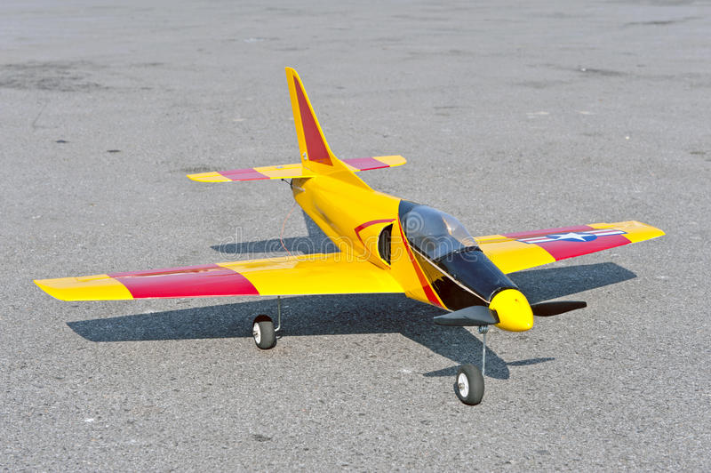 Download Radio Control Toy Aircraft With Electric Motor Stock Image - Image: 17434913