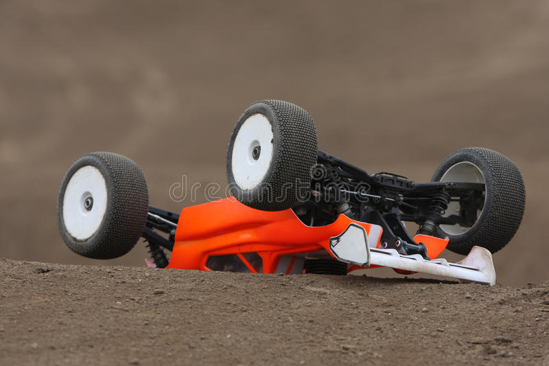 Download Radio Controlled Car At Race Track Royalty Free Stock Photos - Image: 12286298