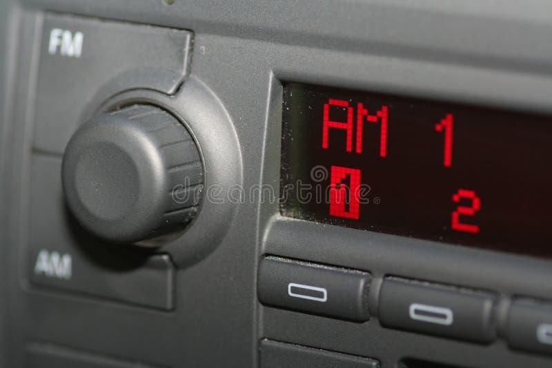 Radio de coche foto de archivo