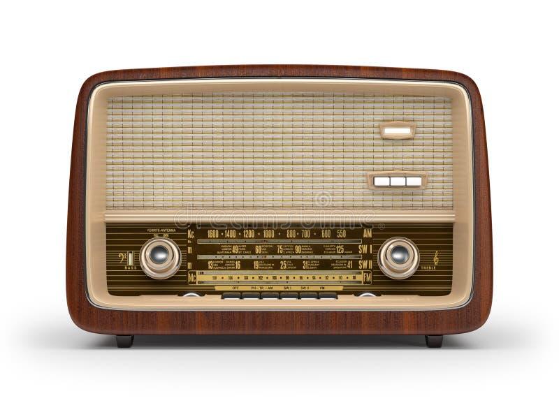 Radio de cru illustration libre de droits