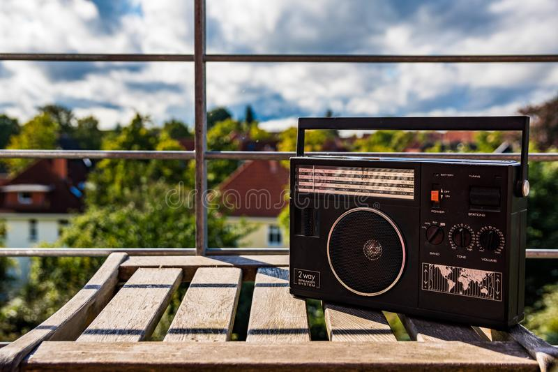 Radio de la vendimia foto de archivo libre de regalías