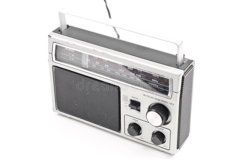 Radio de la vendimia de la FM imagenes de archivo