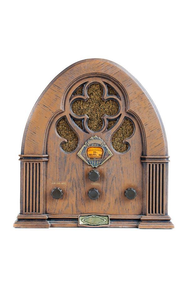 Radio de la vendimia AM/FM imágenes de archivo libres de regalías