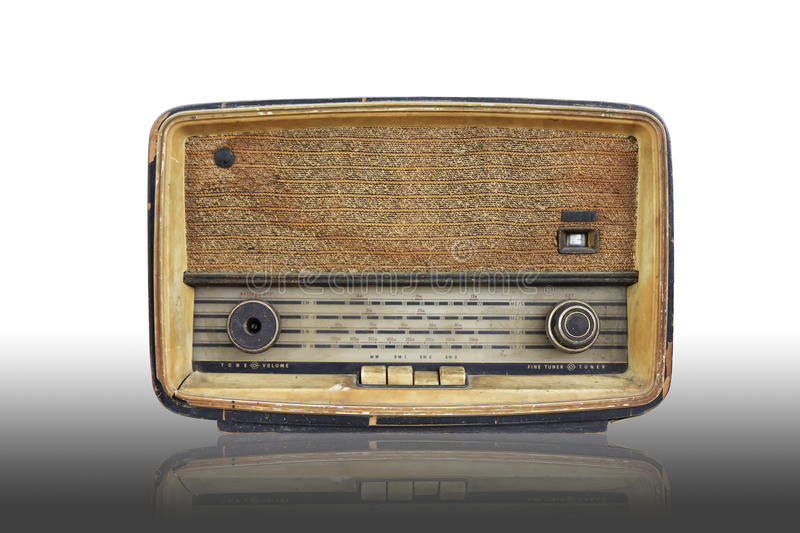 Radio de vintage photos stock