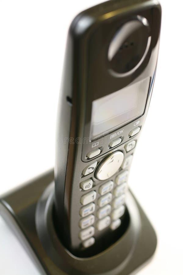 radio debout de tube de téléphone de chargeur images libres de droits