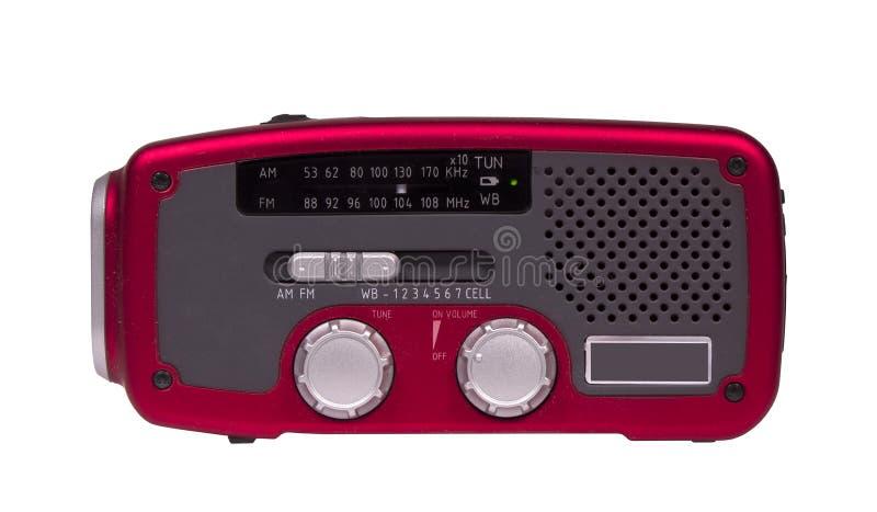 Download Radio Del Tiempo De La Emergencia Imagen de archivo - Imagen de baterías, plástico: 42425631