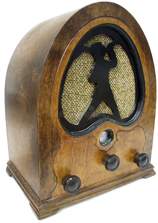 Radio Dell Annata Immagine Stock Libera da Diritti