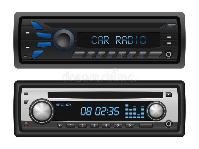 Radio dell'automobile illustrazione vettoriale