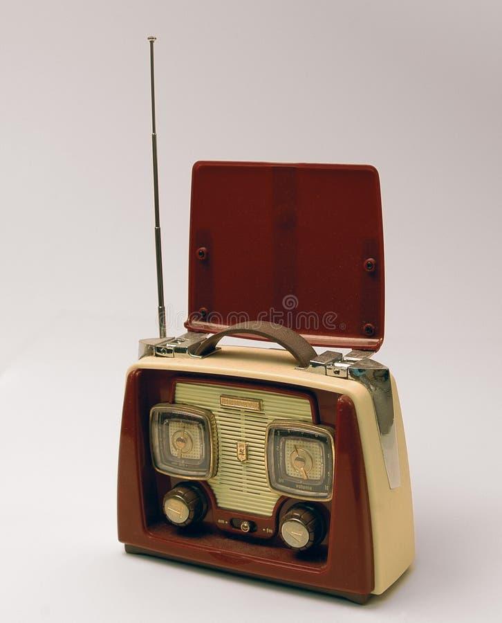 Radio dell'oggetto d'antiquariato fotografie stock libere da diritti