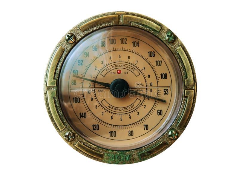 Radio dial royalty free stock photography