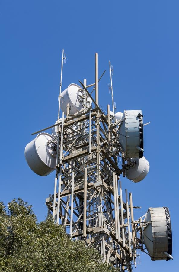 Radio draadloze antennes stock foto's