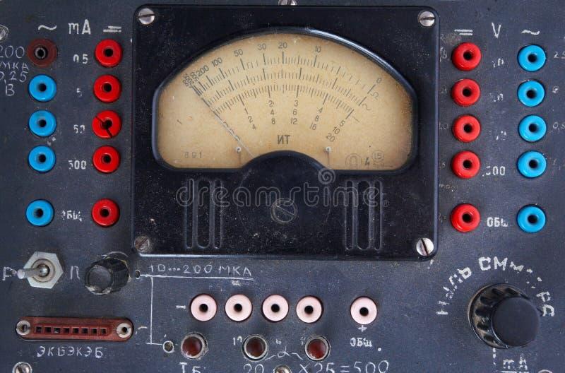 radio du mètre 1940 50s images stock