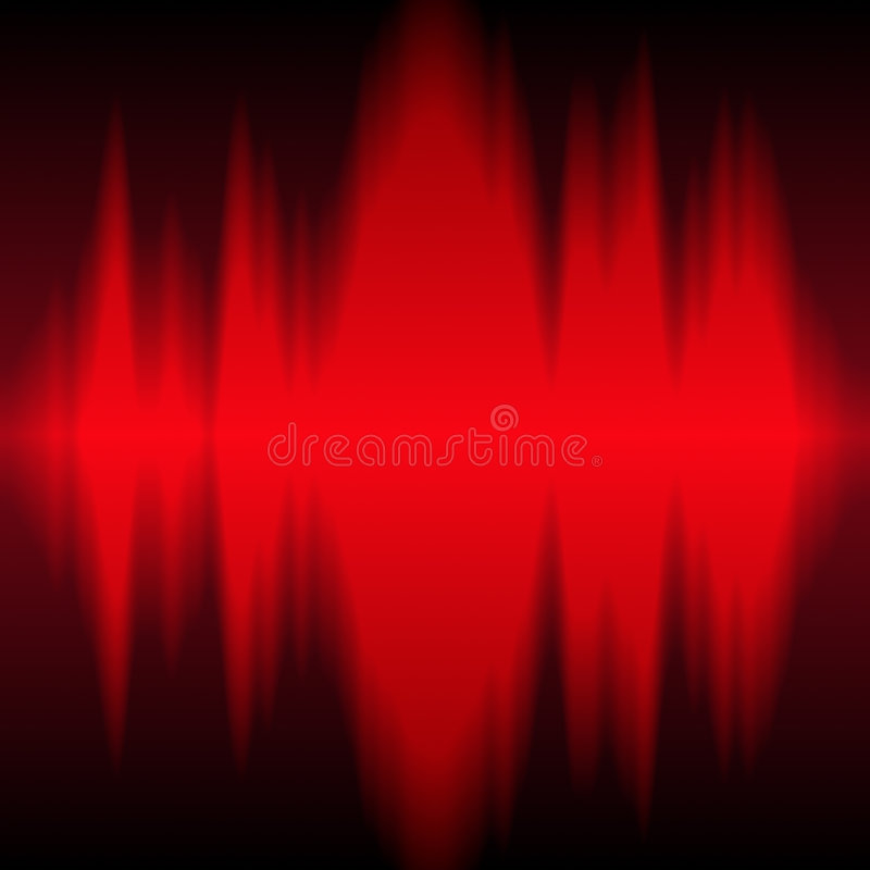 Radio frequency royalty free illustration