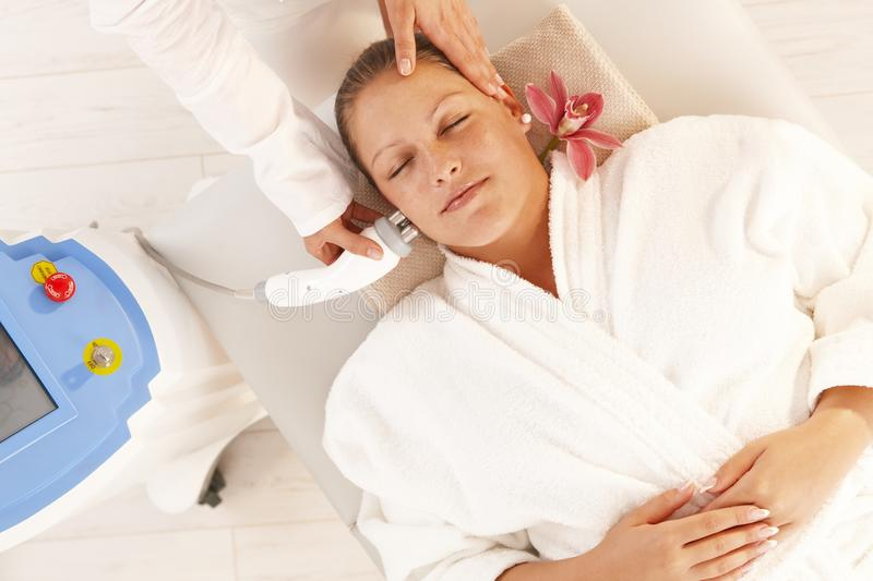 Download Radio Frequency Fat Reduction Treatment Stock Image - Image: 18506151