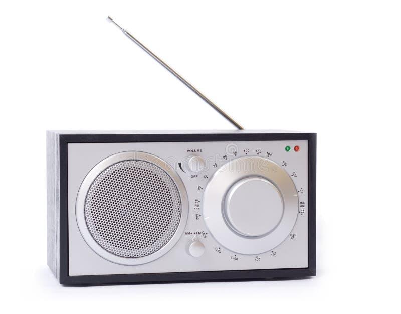 Radio isolata immagine stock libera da diritti