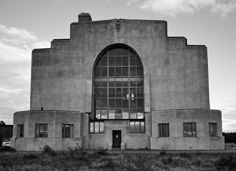 Radio Kootwijk-Gebäude lizenzfreie stockbilder
