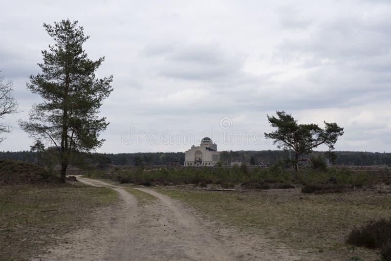 Radio Kootwijk i Nederland royaltyfri fotografi