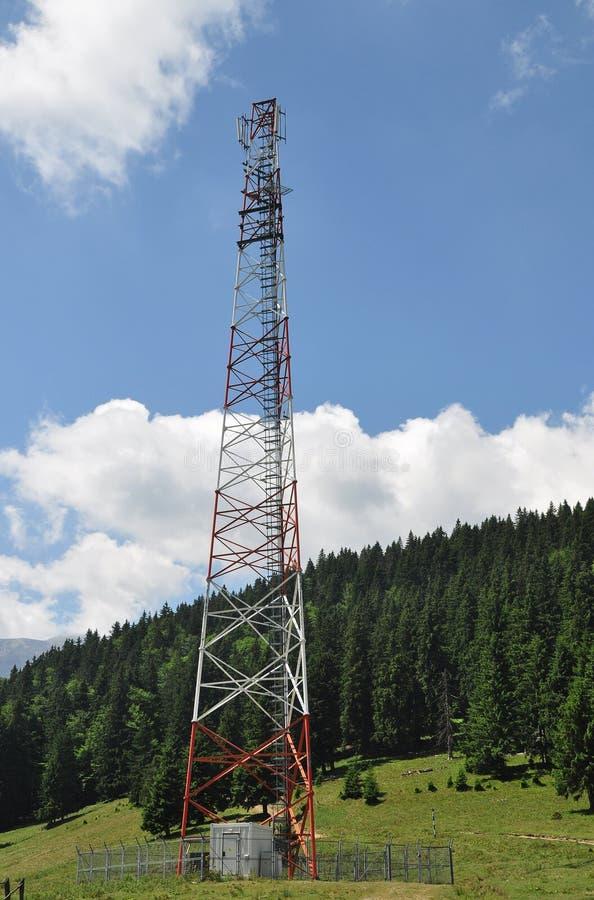 Download Radio mast stock image. Image of bucegi, cloudy, communication - 25527059