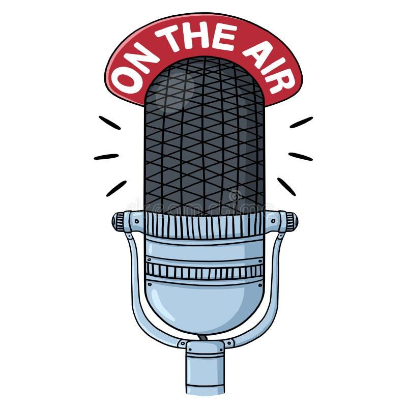 Download Radio Microphone Illustration Stock Illustration - Image: 39225182